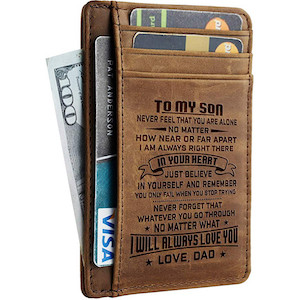 Wallet with quote
